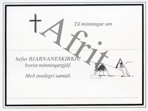 minningarkort-bjarnaneskirkja-afrit