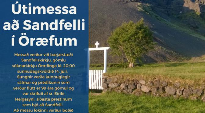 Útimessa að Sandfelli í öræfum (eiríksmessa)