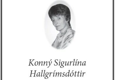 Útför Konnýjar S. Hallgrímsdóttur