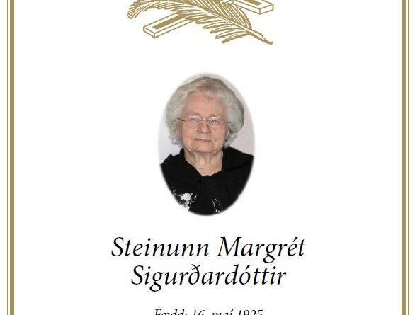 Útför Steinunnar Margrétar Sigurðardóttur